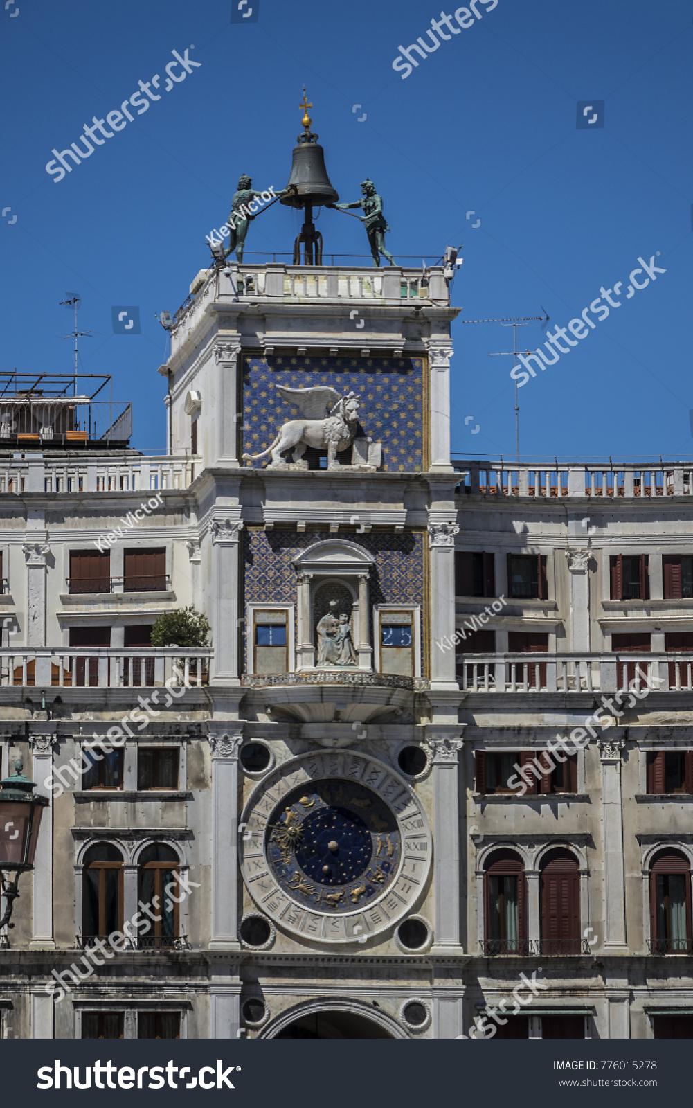 View Zodiac Clock Piazza San Marco Stock Photo 776015278 - Shutterstock