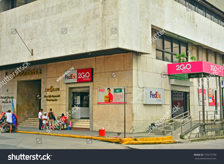 Manila Phoct 7 Fedex 2go Express Stock Photo (Edit Now