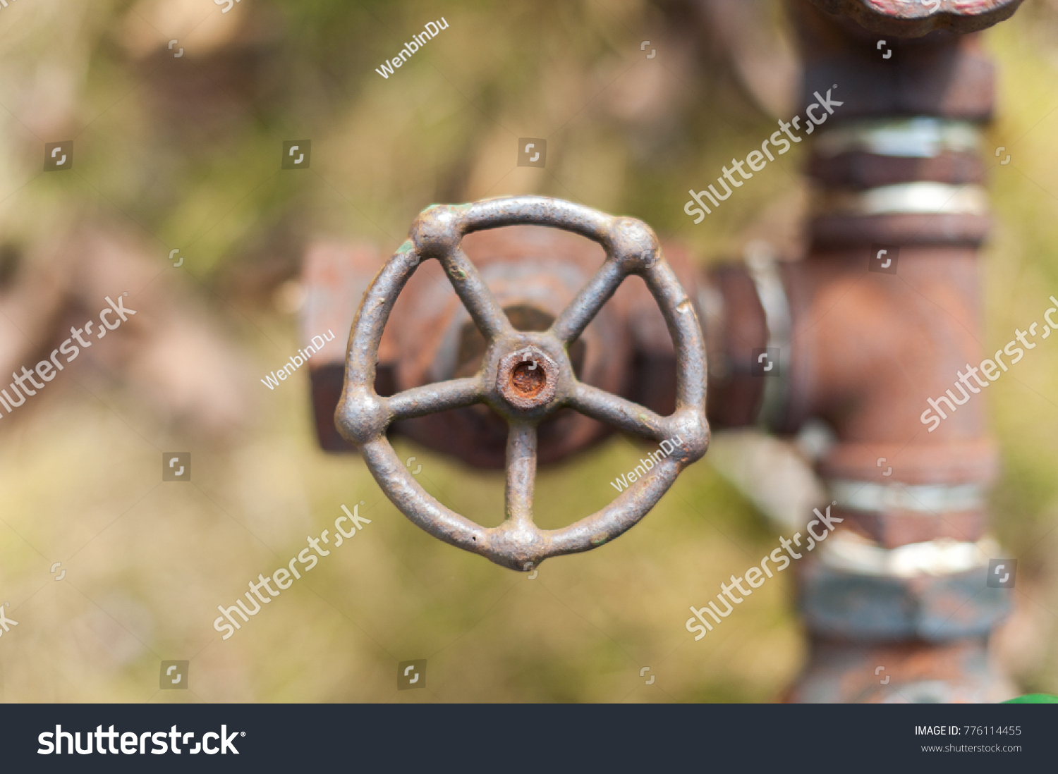 Old Rusty Water Faucet Stock Photo (Download Now) 776114455 ...
