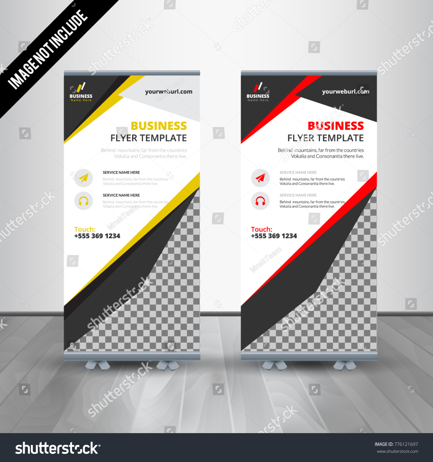red roll up business brochure flyer banner design vertical template vector cover presentation abstract geometric