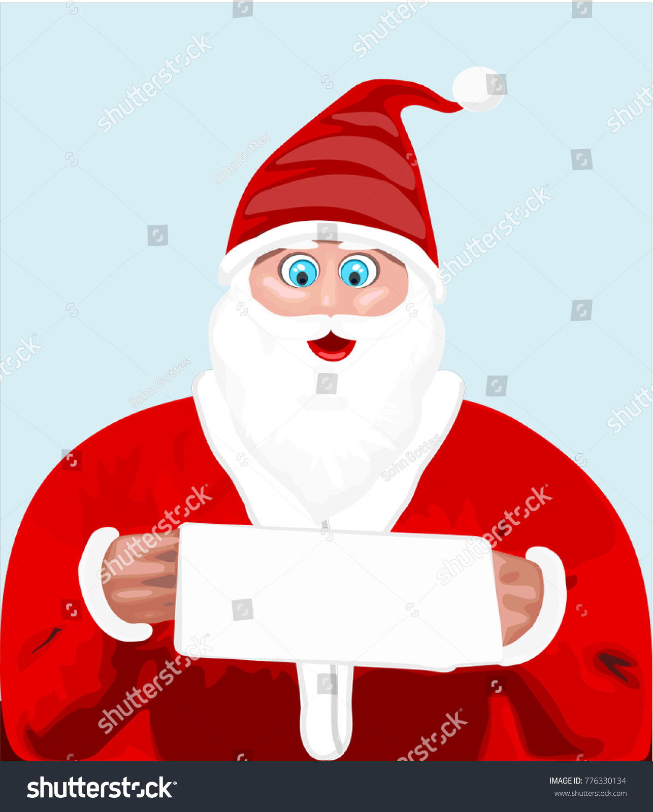 stock-vector-santa-reading-gift-request-