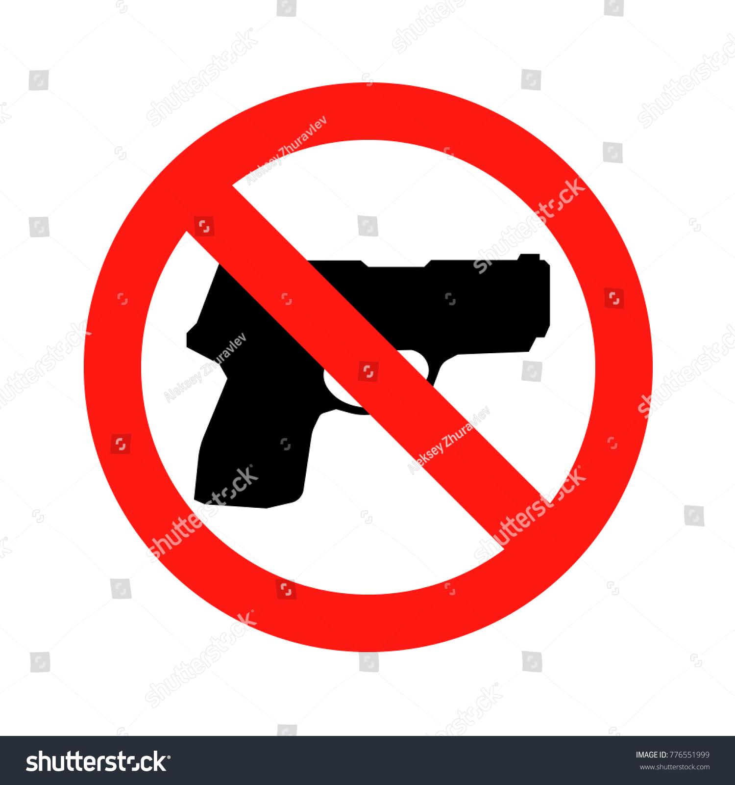 No gun sign no weapon symbol stock illustration 776551999 no gun sign no weapon symbol icon illustration biocorpaavc