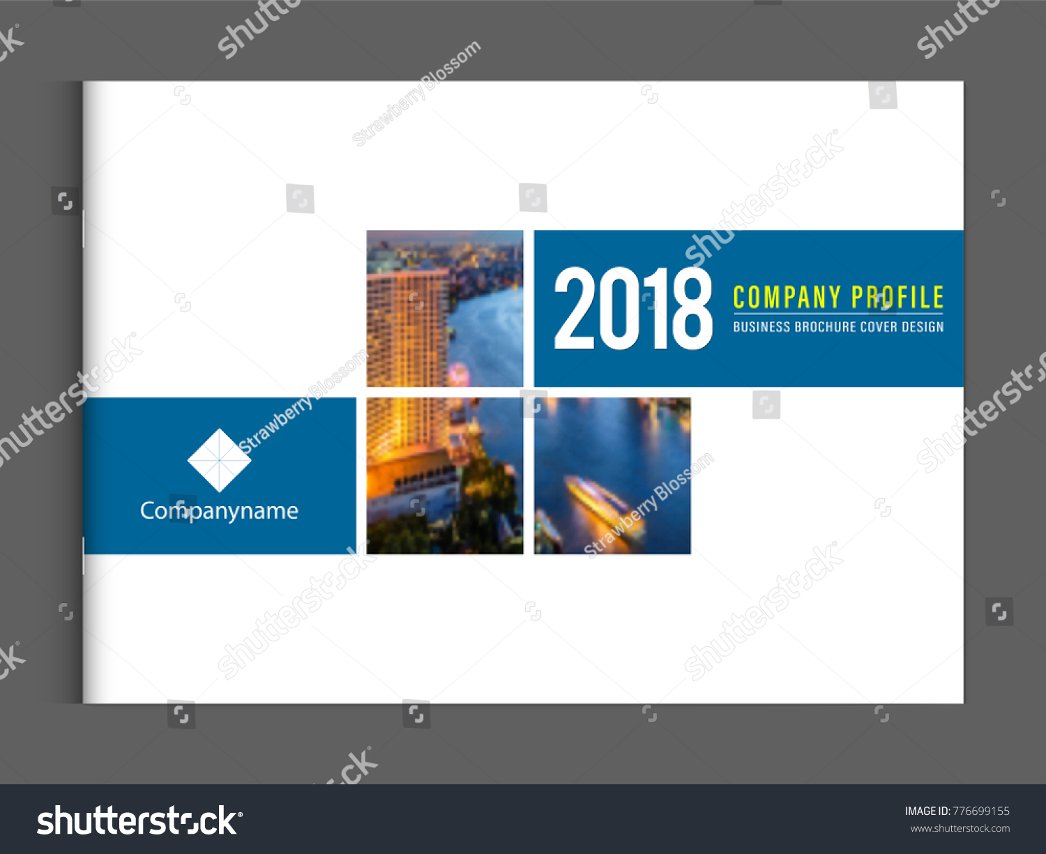 Business brochure cover design template corporate stock vector business brochure cover design template corporate company profile or annual report catalog magazine flyer booklet leaflet wajeb Images