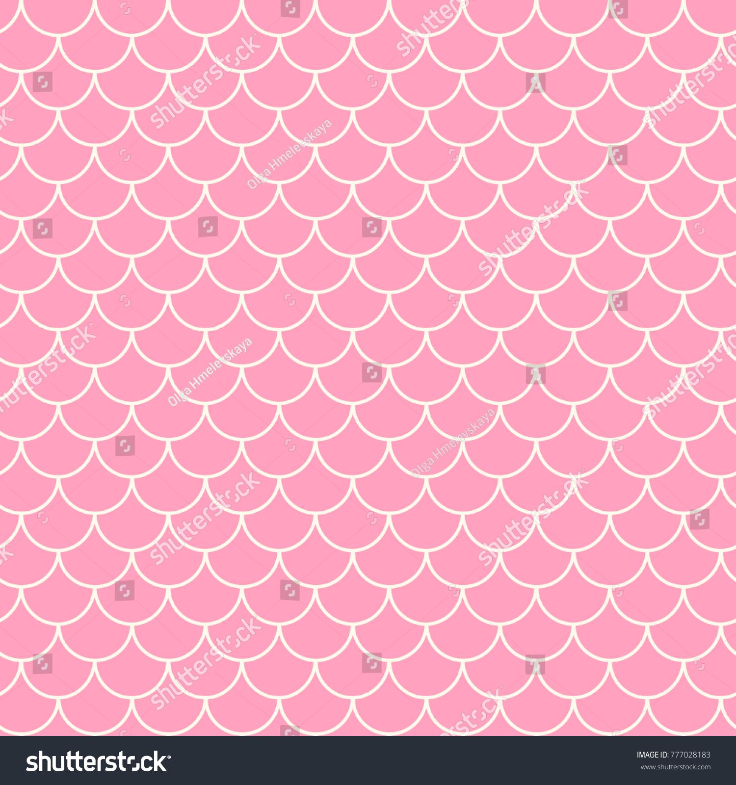 Little Mermaid Seamless Pattern Fish Skin 777028183