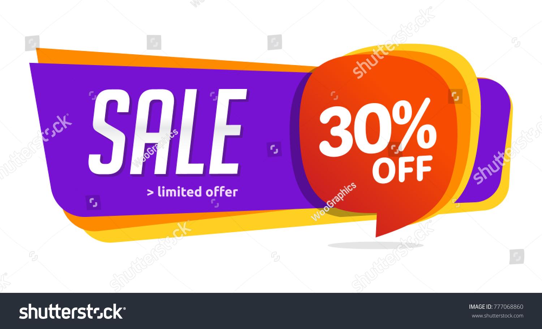 30 discount sales vector badges labels のベクター画像素材