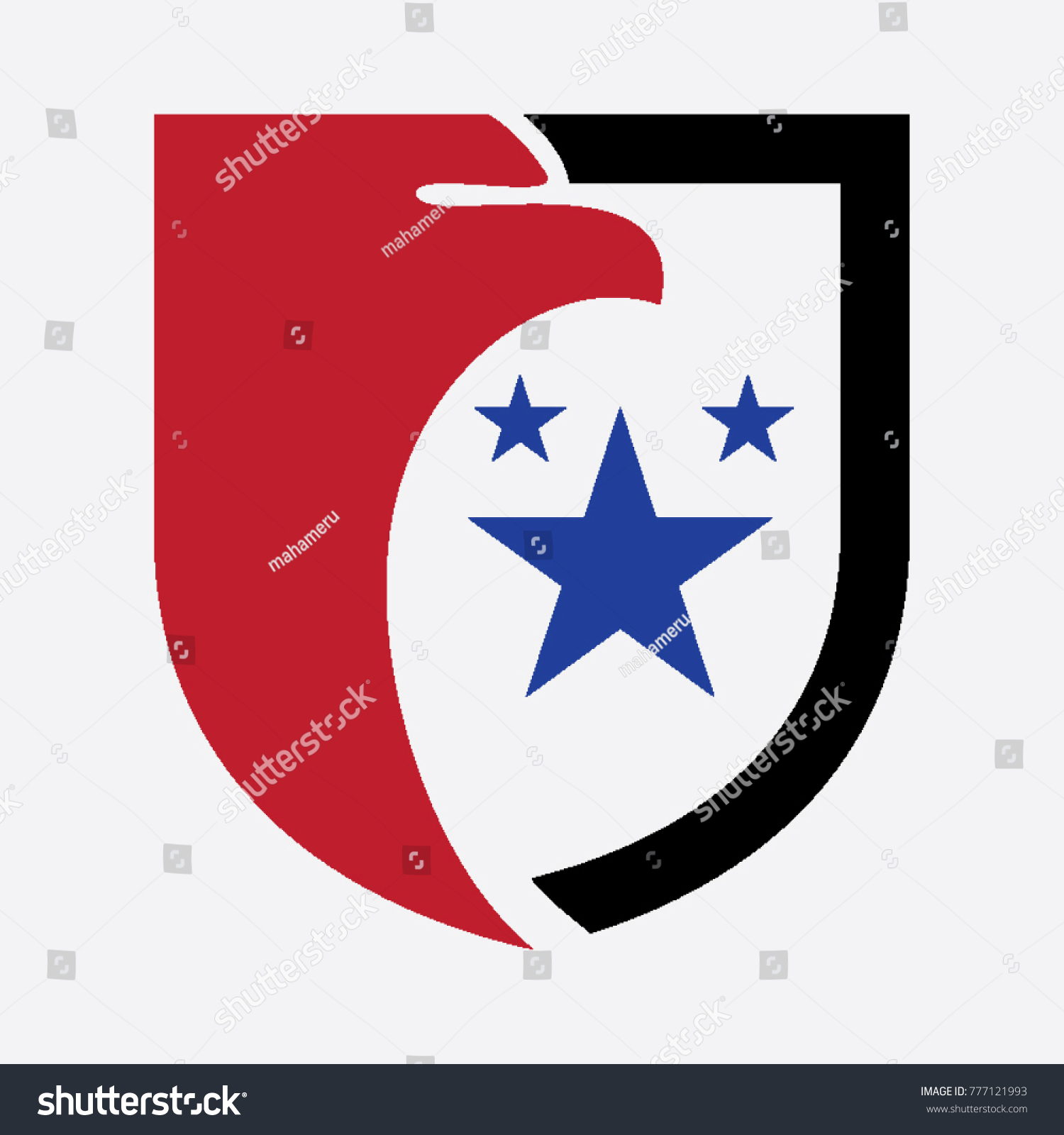 Shield eagle symbol logo stock vector 777121993 shutterstock shield eagle symbol logo biocorpaavc Gallery