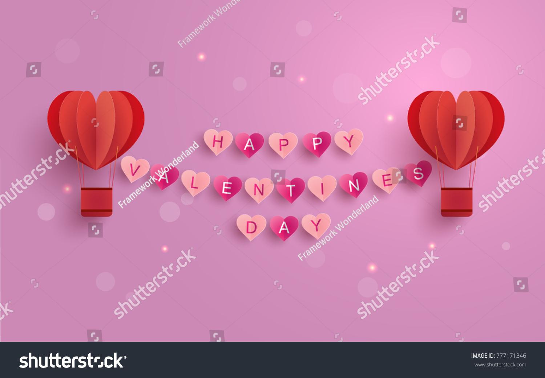 Happy Valentine Day Illustration Symbol Love Stock Vector Royalty