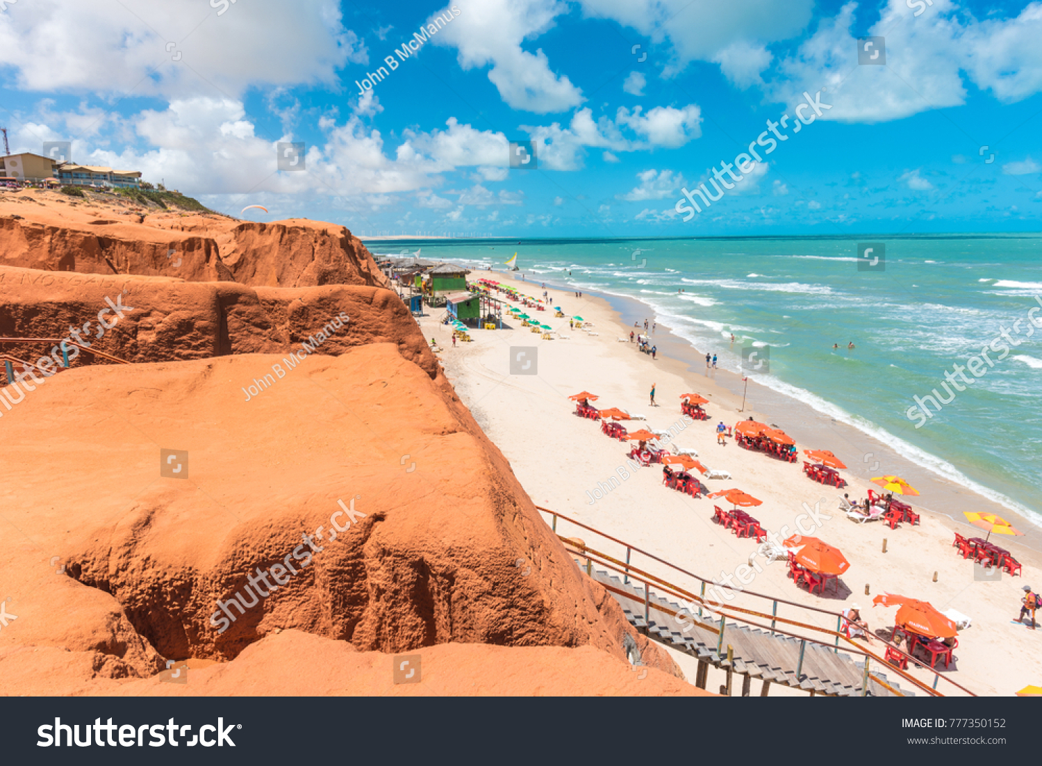 canoa quebrada beach scenes stock photo (edit now) 777350152