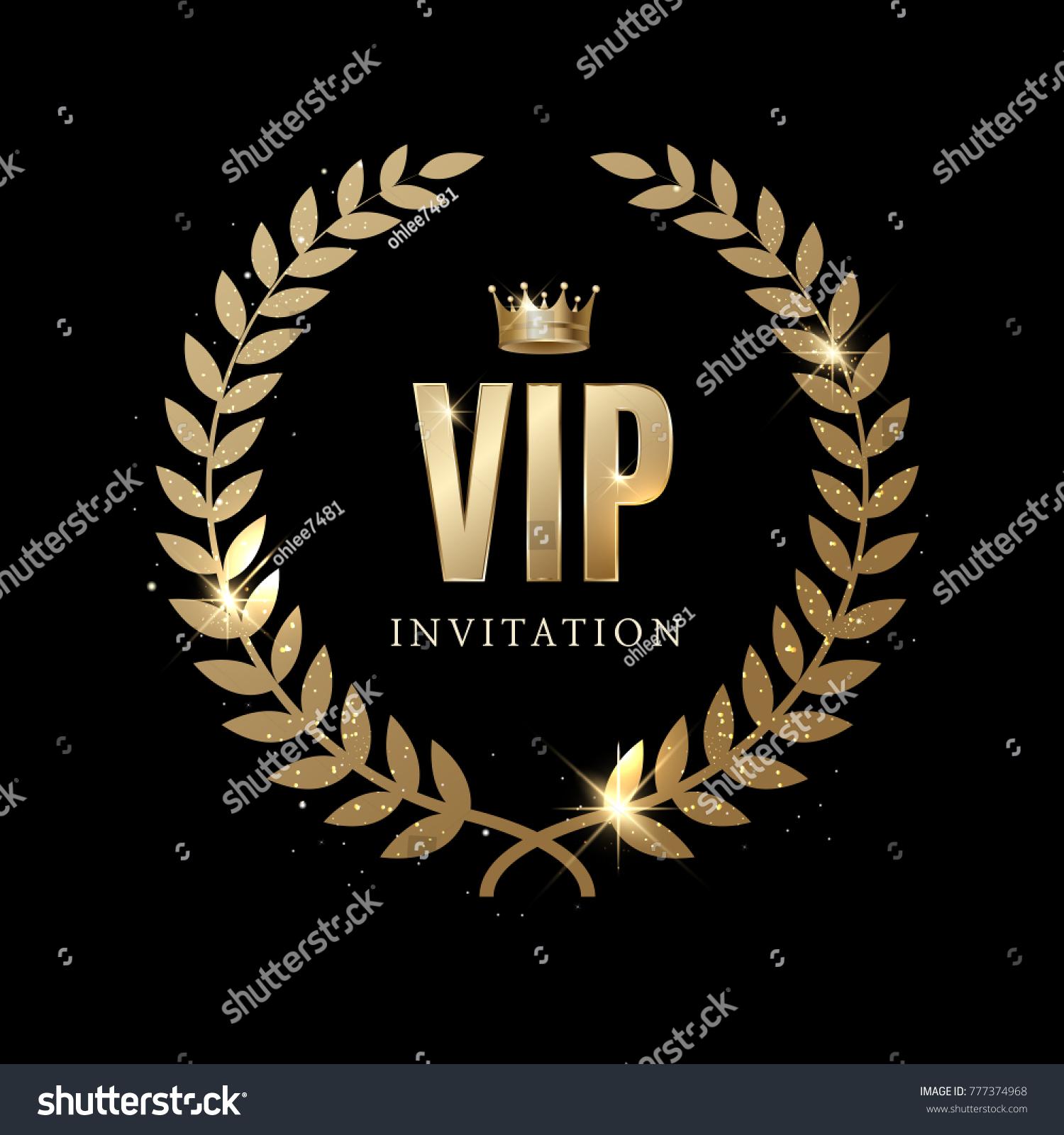 Luxury vip invitation stock vector hd royalty free 777374968 luxury vip invitation stopboris Gallery