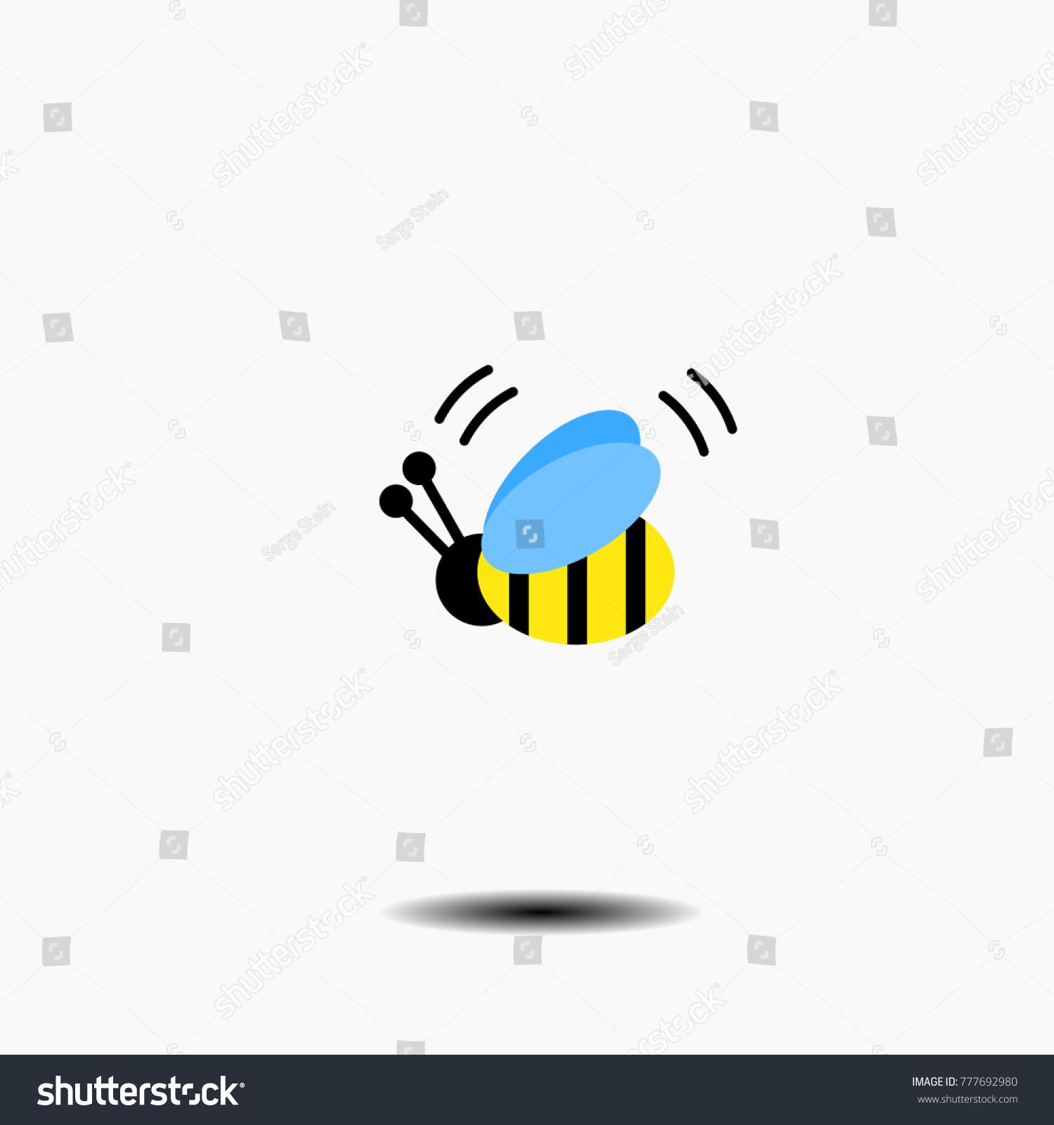 Flying bumble bee stock vector 777692980 shutterstock flying bumble bee biocorpaavc