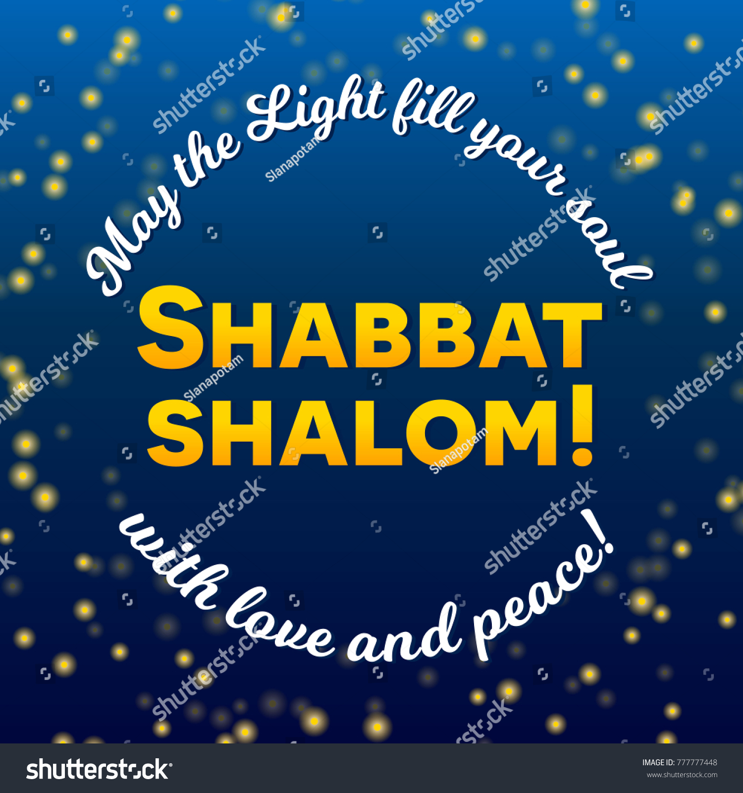 Shabbat shalom lettering greeting card vector stock vector shabbat shalom lettering greeting card vector illustration two burning shabbat candles and bokeh kristyandbryce Image collections