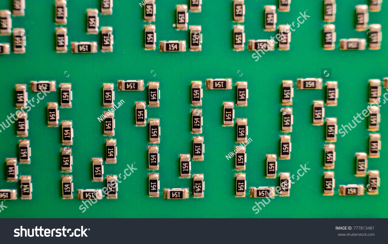 Concept Electronic Industry Printed Circuit Board Stock Photo Edit Games Circuits The Of