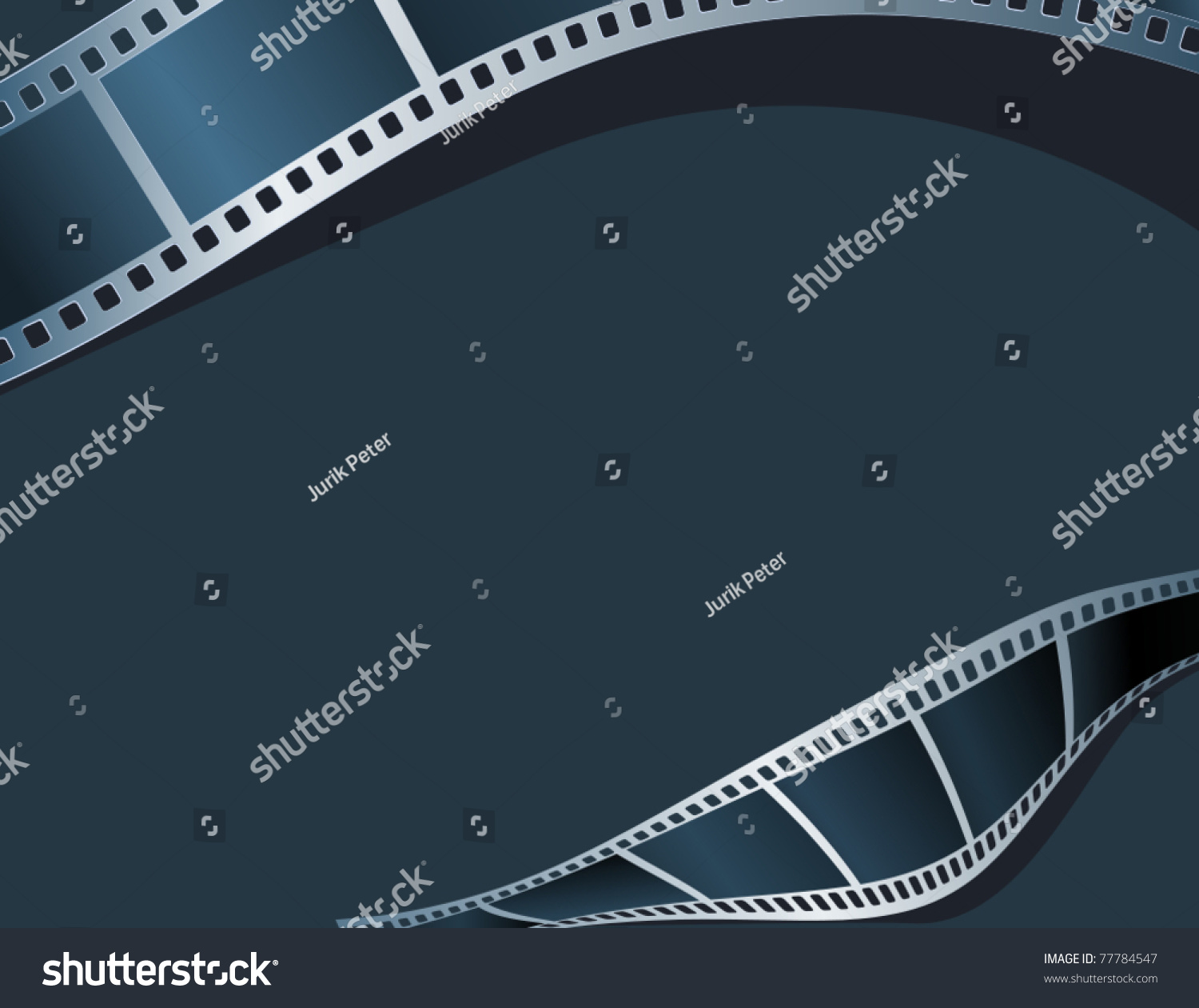 Blank photo video template stock vector 77784547 shutterstock blank photo video template pronofoot35fo Image collections