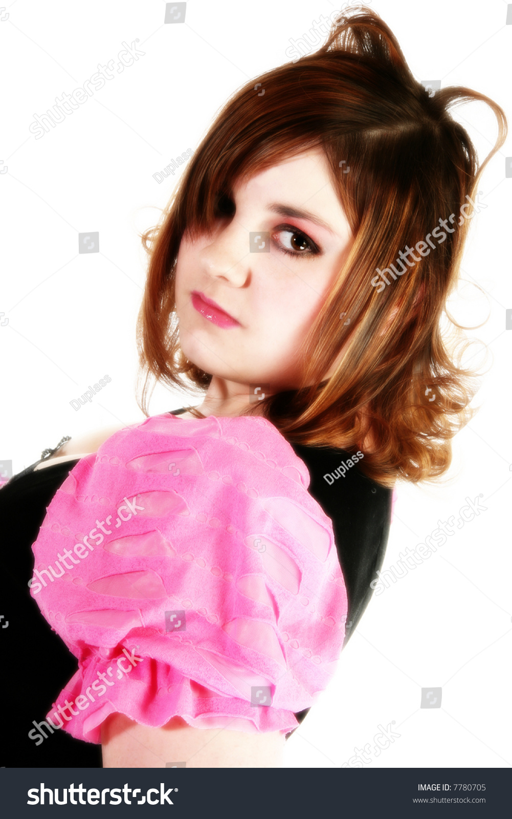 Beautiful 16 Year Old Teen Girl Stock Photo 7780705