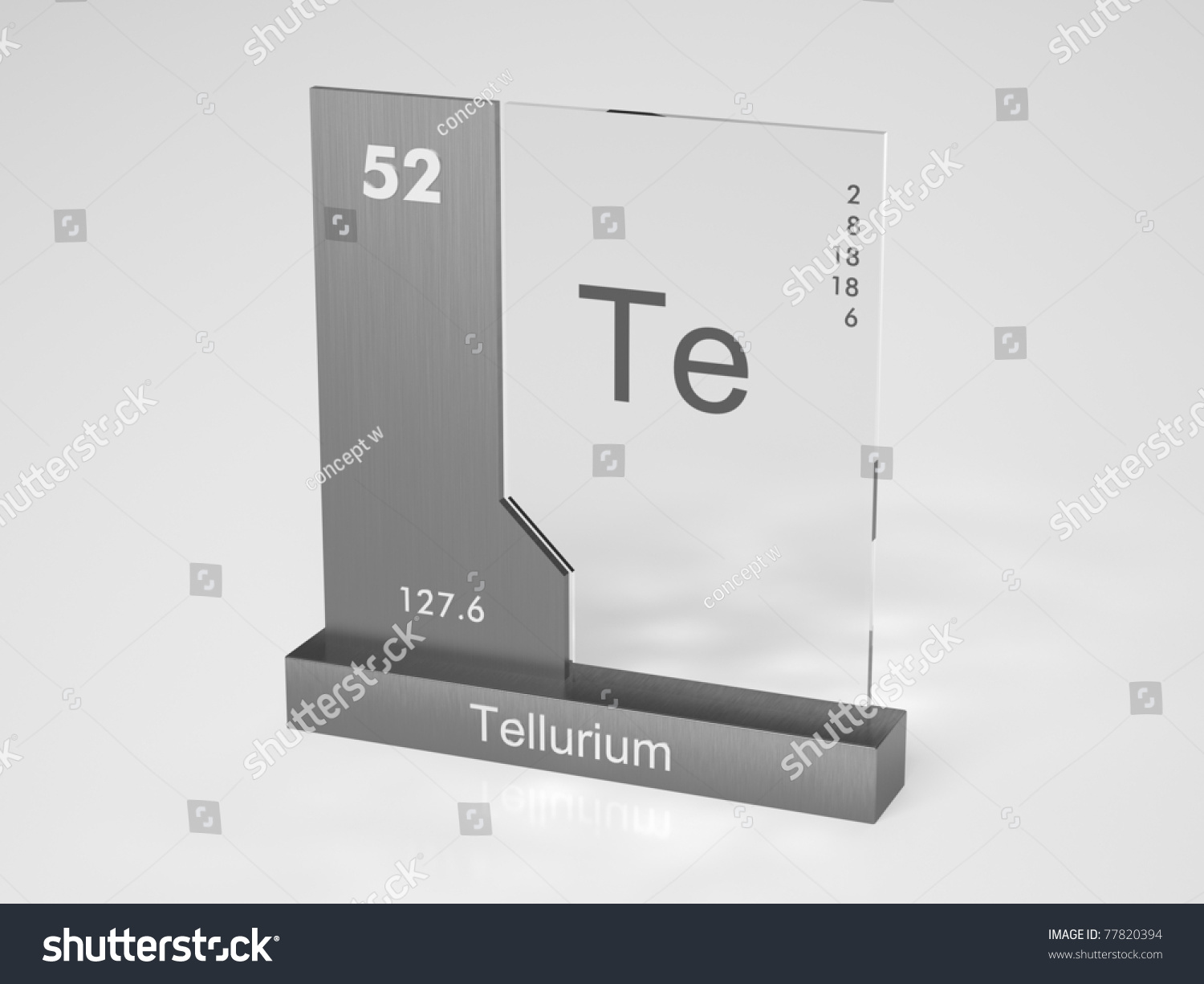 Tellurium symbol te chemical element periodic stock illustration tellurium symbol te chemical element of the periodic table gamestrikefo Choice Image