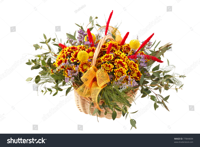 Beautiful flowers in a basket ez canvas id 77844694 izmirmasajfo