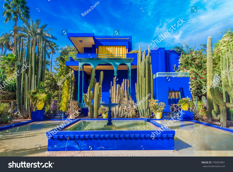 le jardin majorelle marrakech morocco november 14 2017 amazing tropical garden - Majorelle Garden