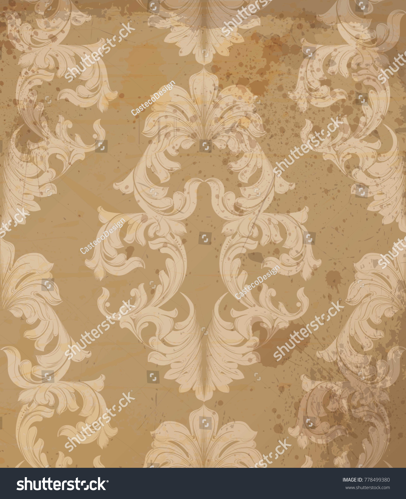 Fine Baroque Wall Decor Composition - The Wall Art Decorations ...
