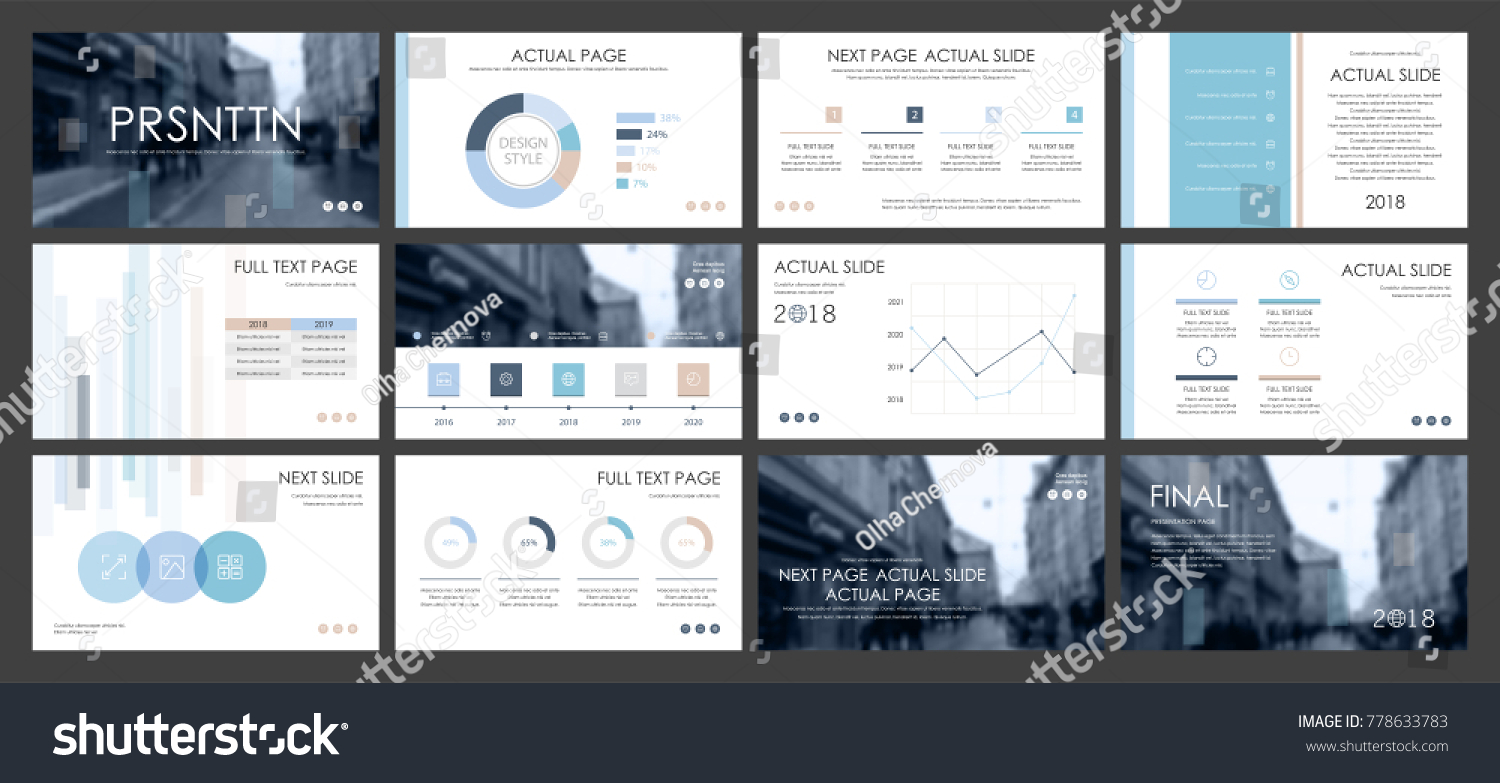 This template best business presentation used stock vector 778633783 this template is the best as a business presentation used in marketing and advertising cheaphphosting Choice Image