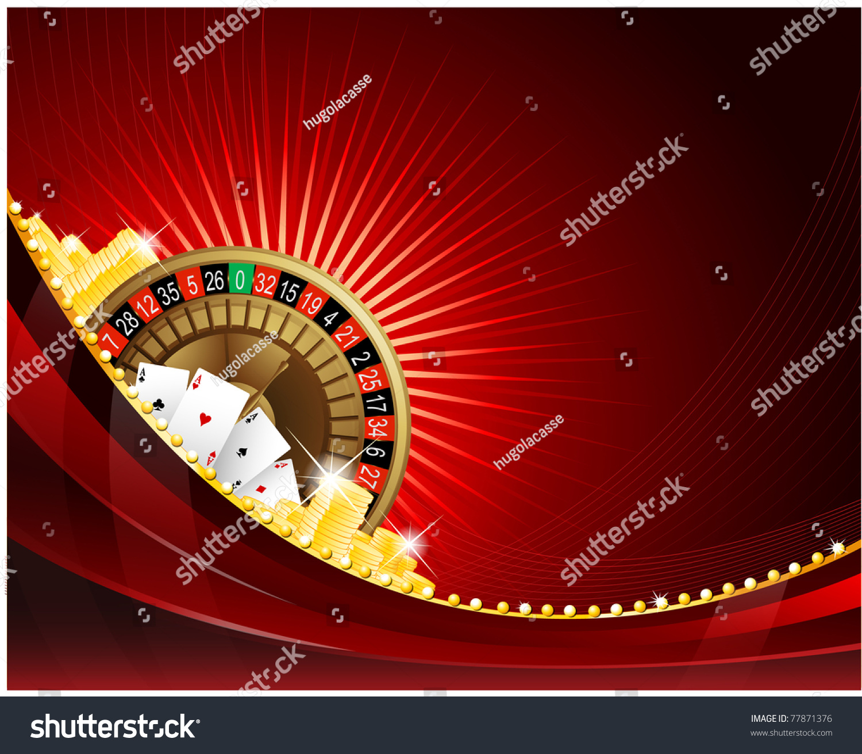 gambling background casino elements stock vector 77871376