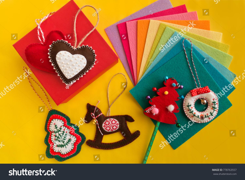 Easy Christmas Craft Adult Kids Make Stock Photo Edit Now