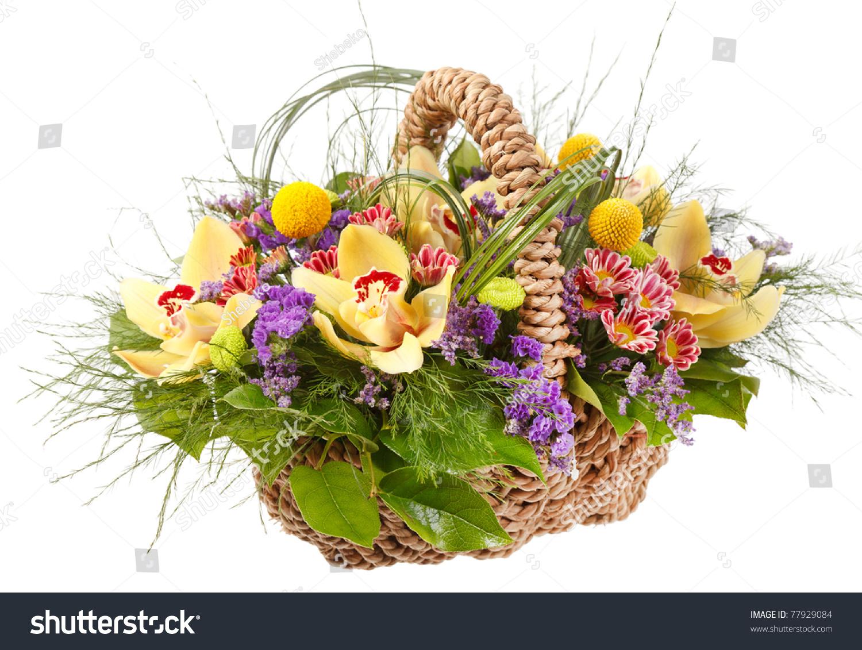 Beautiful flowers basket stock photo edit now 77929084 shutterstock beautiful flowers in the basket izmirmasajfo