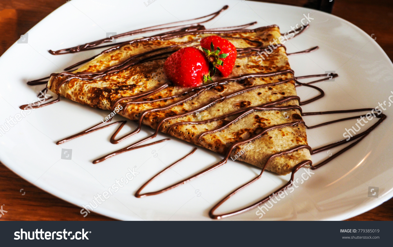 Perfect Pancake Decoration Restaurant Rotterdam Netherlands Stock Photo Edit Now 779385019