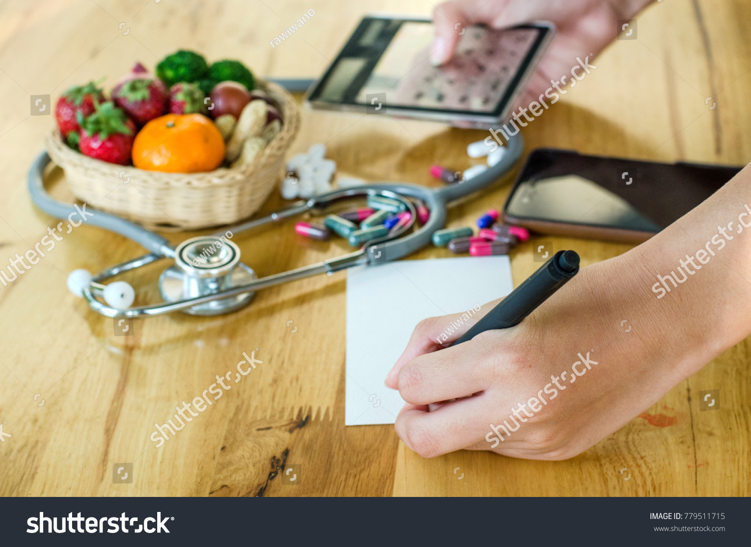 healthy lifestyle concept fruits vegetables basket stock photo edit