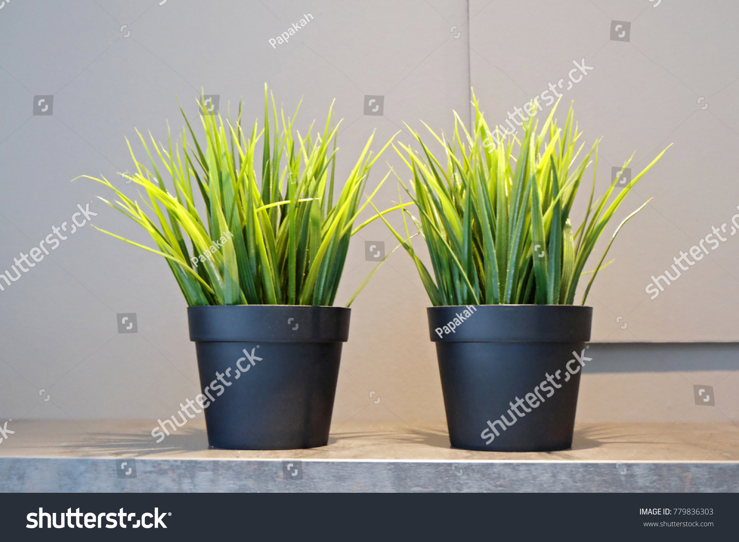 office flower pots. Beautiful Artificial Plant In Pots Decoration For Office And Home. Look Same Natural Relaxing Flower