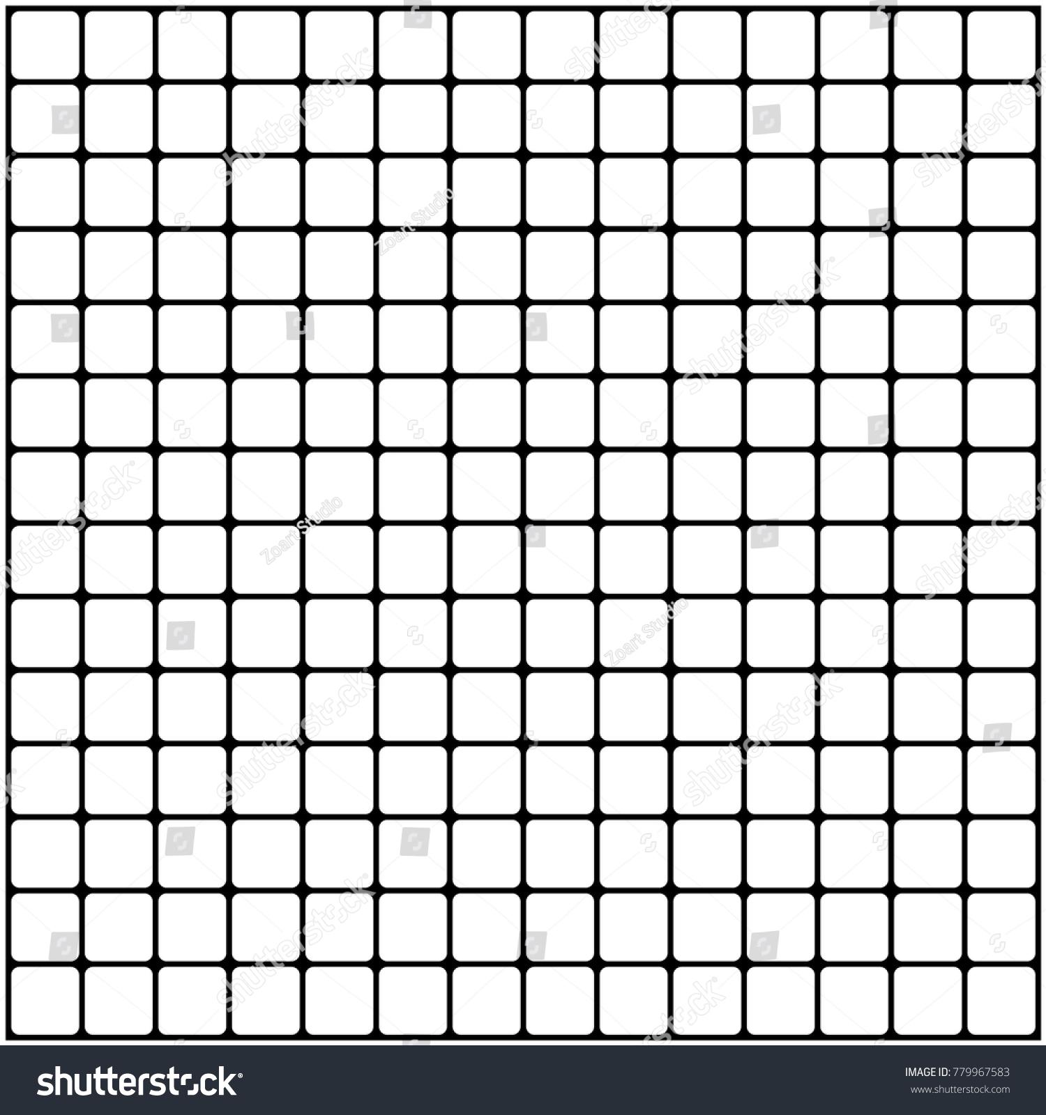 Cube Pattern Black Mesh Transparent Backgrounds Stock Vector ...