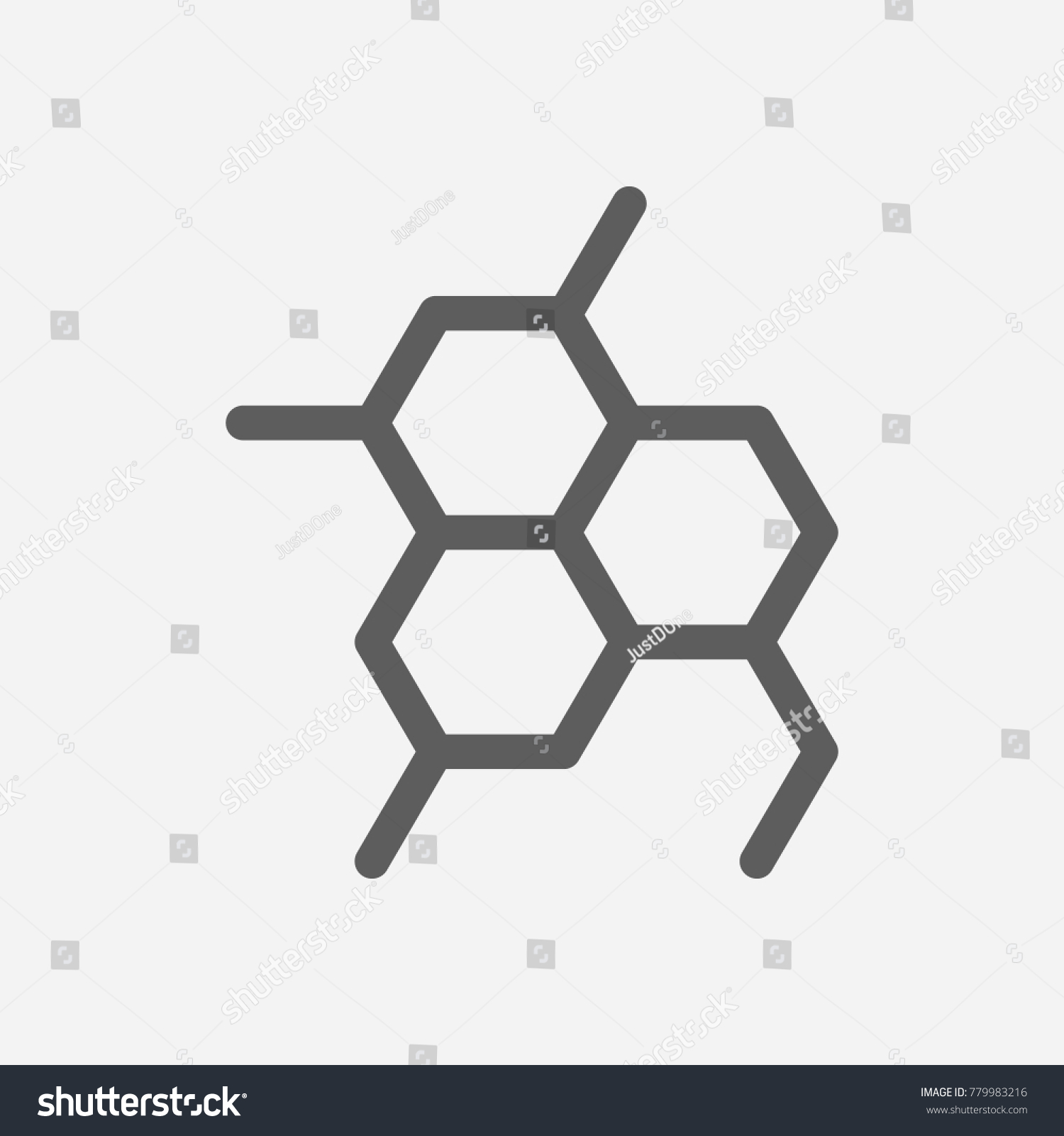 Oil chemical reaction icon line symbol stock illustration oil chemical reaction icon line symbol isolated illustration of phenol sign concept for your web biocorpaavc Choice Image