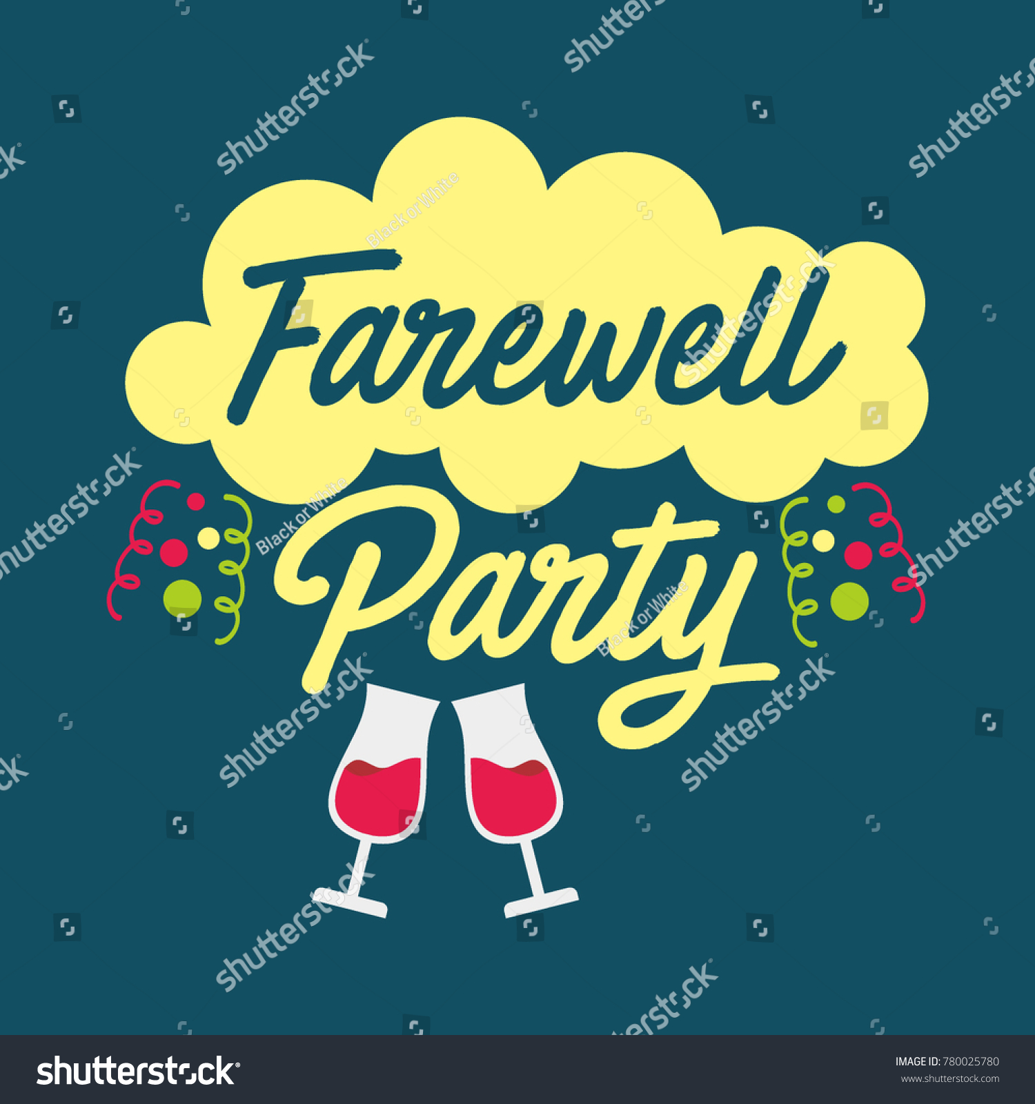 farewell party posters designs