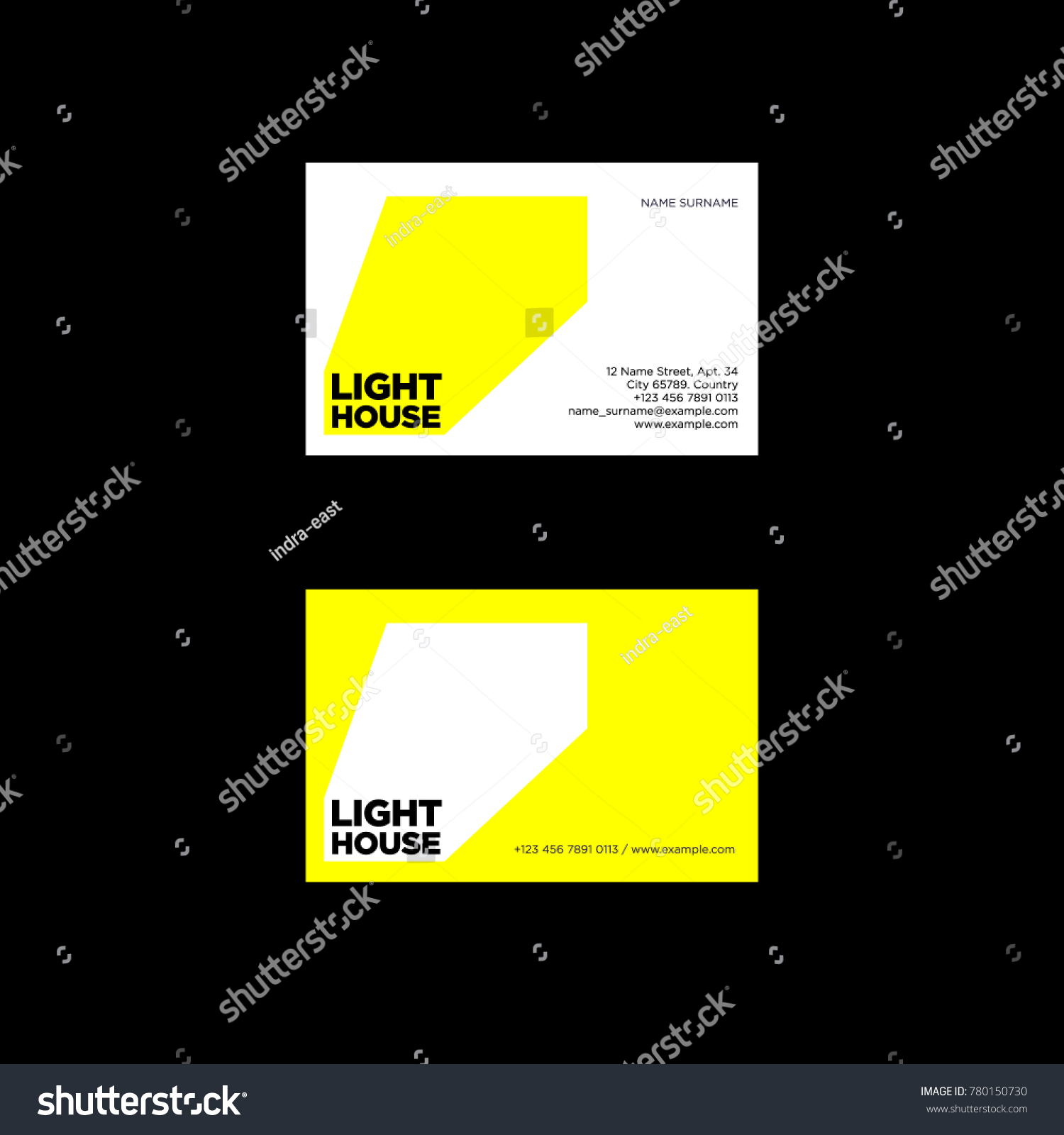 Lighthouse Logo Ray Light Emblem Identity Stock Vector 780150730 ...