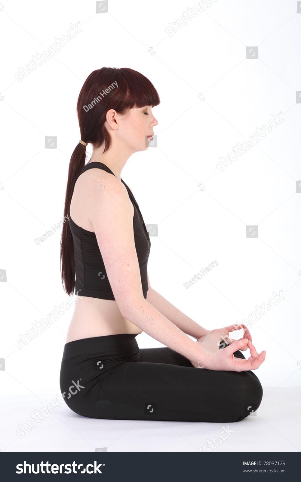 Beautiful side profile   HOT Girls In Yoga Pants   Best