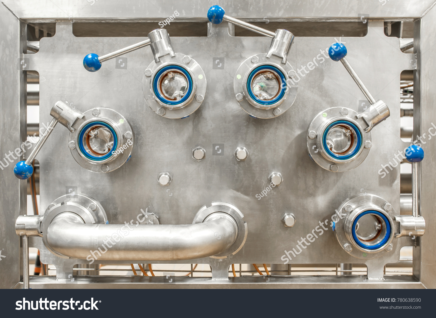 stock-photo-panel-for-connecting-pipes-p
