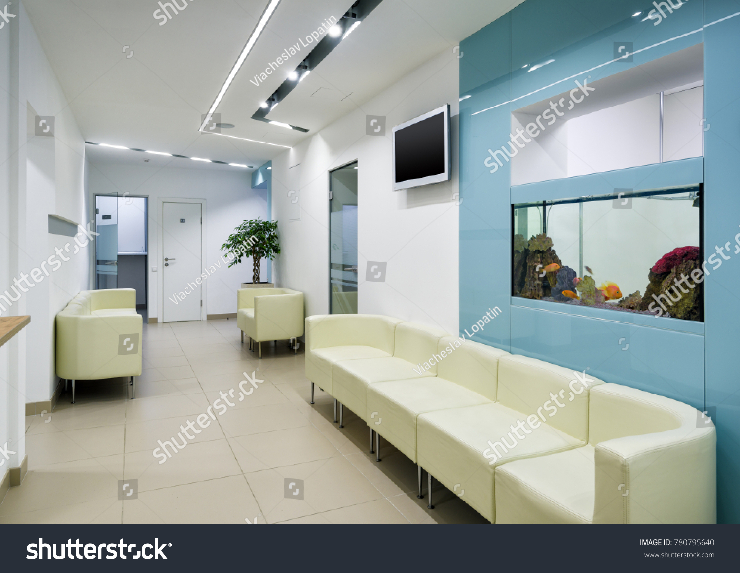 Moscow September 15 2017 Modern Clinic Stock Photo (Royalty Free ...