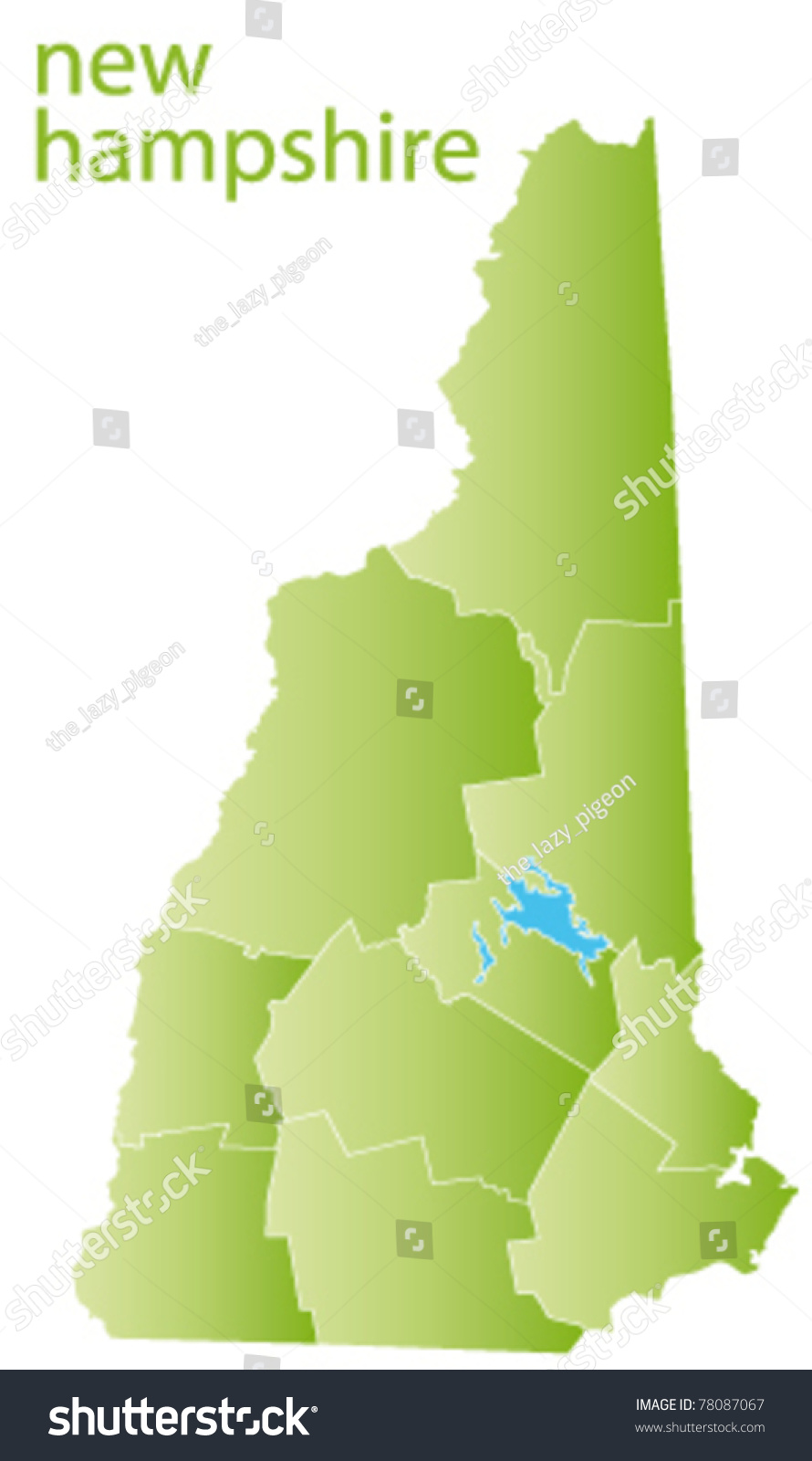 Us Map New Hampshire State reference map of new hampshire new