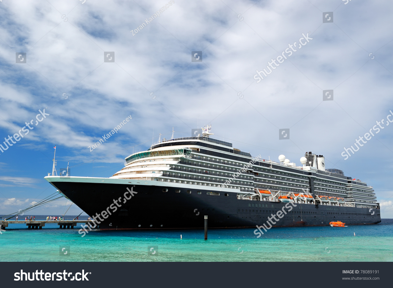 Docked Cruise Ship Stock Photo Shutterstock - Docked cruise ship