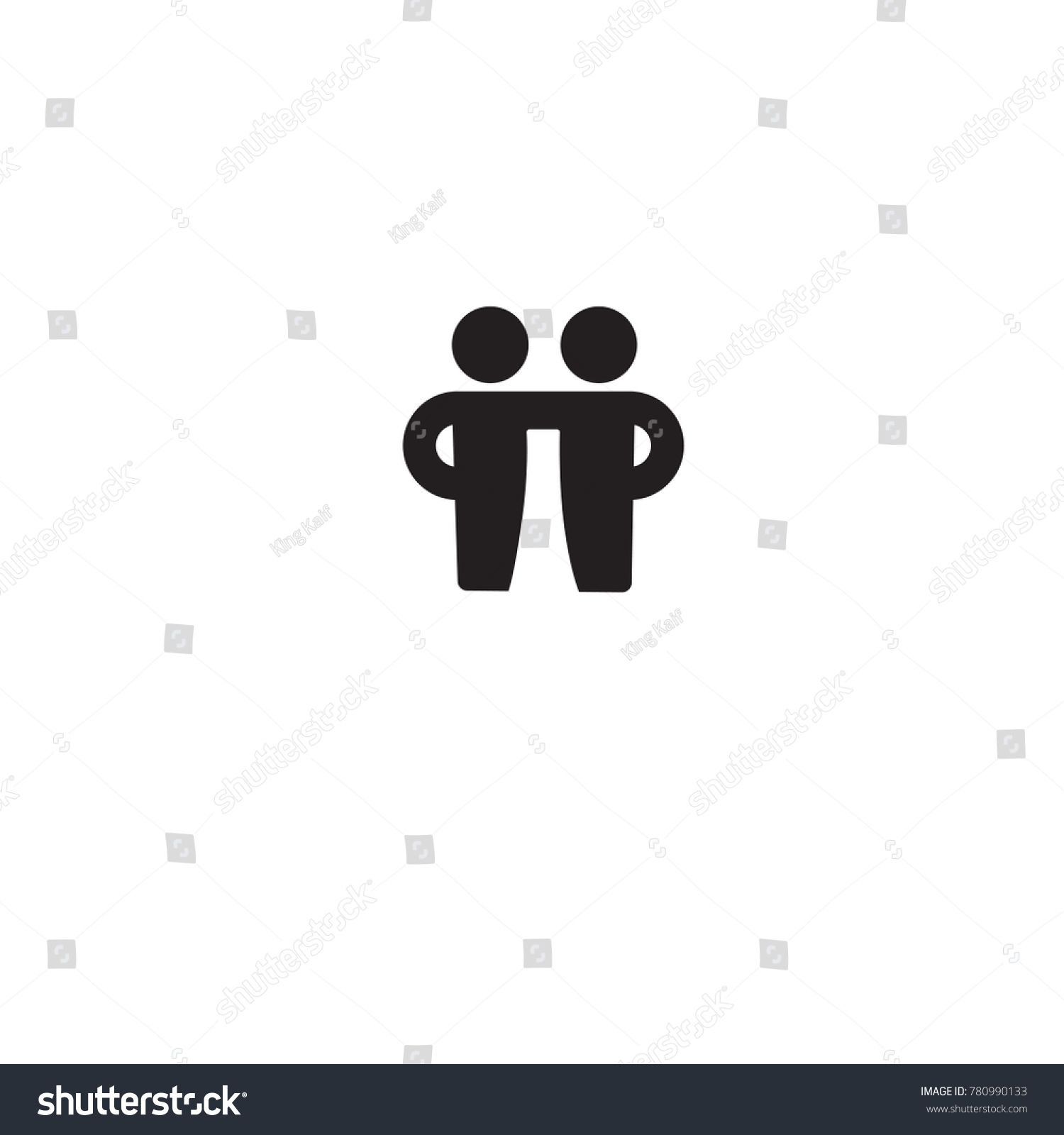 Old navy stock symbol gallery symbol and sign ideas symbol best friends image collections symbol and sign ideas friends icon vector illustration friendship sign stock biocorpaavc