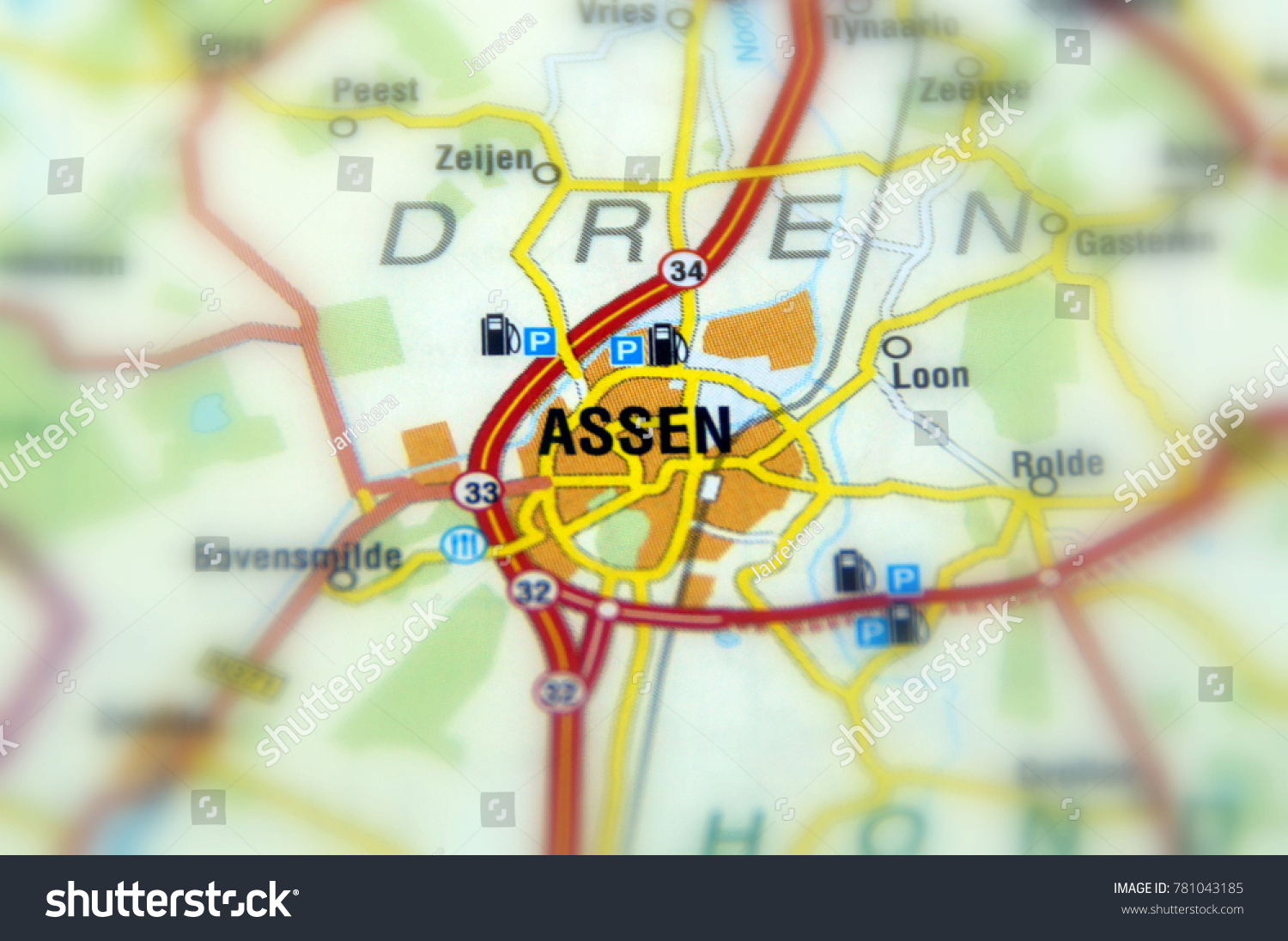 Assen City Northeastern Netherlands Capital Province Stock Photo