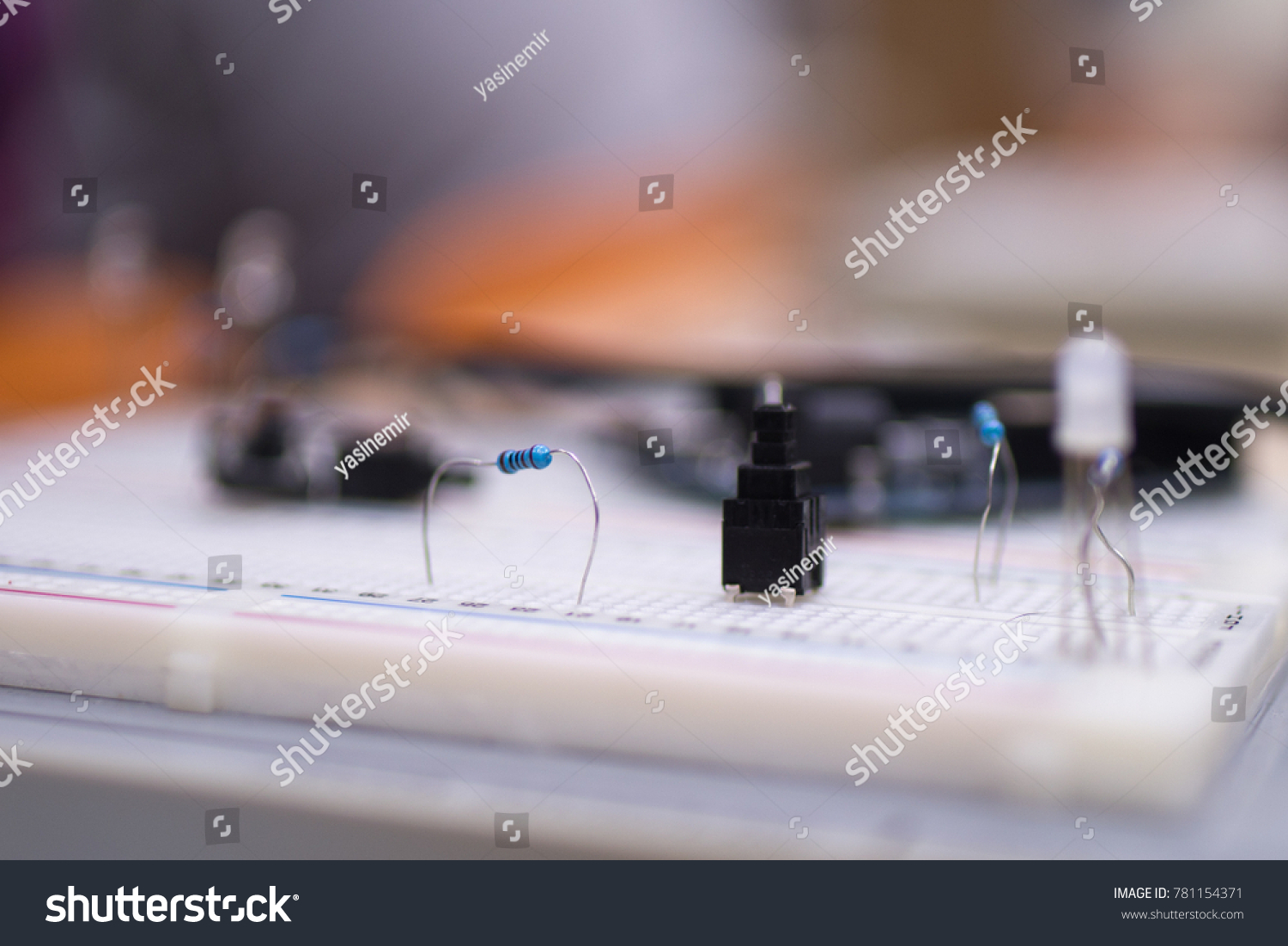 Small Electronics Engineering Projects Made By Stock Photo Edit Now Of Students