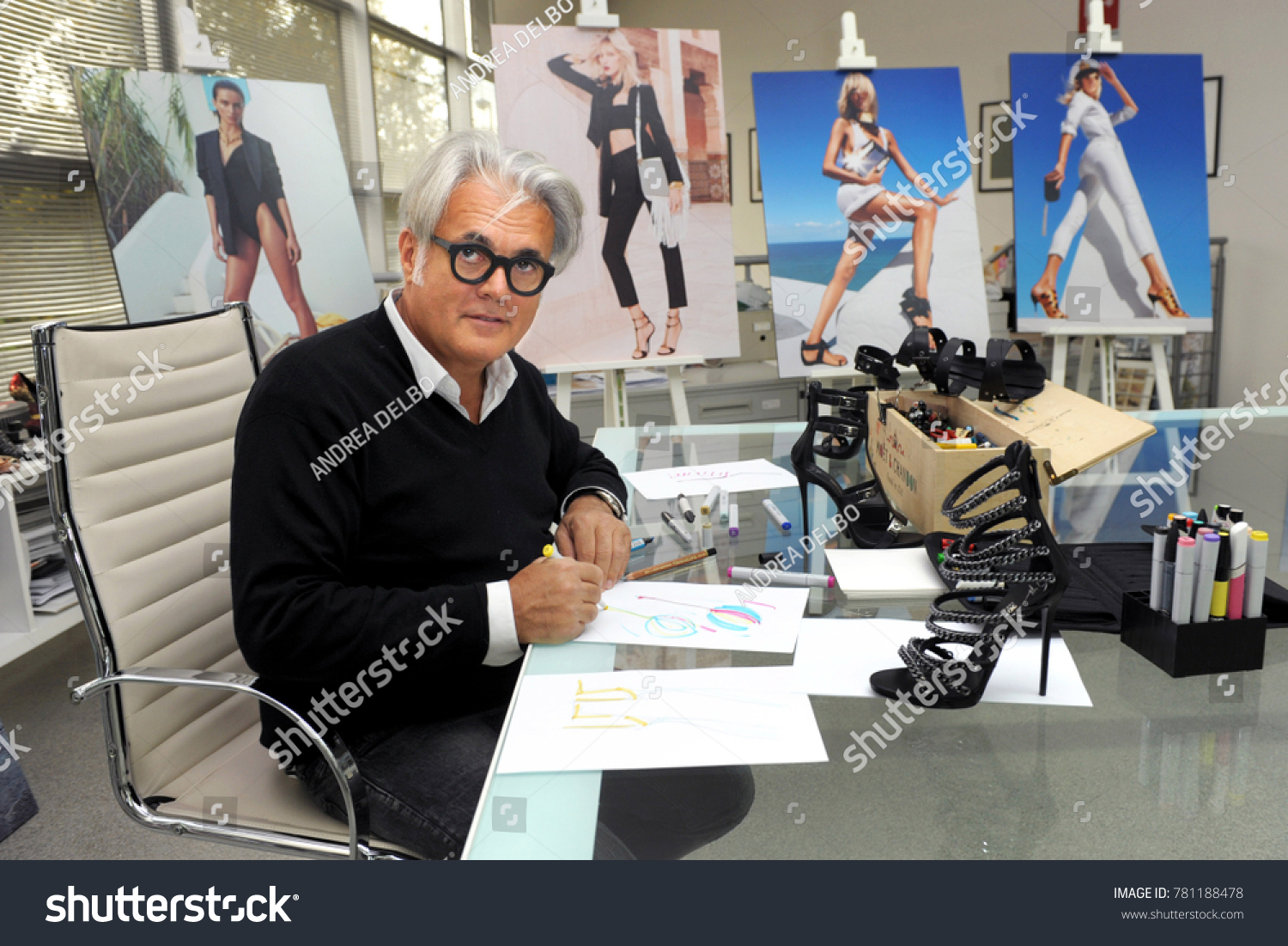 Italy Milan December 252017 Giuseppe Zanotti Stock Photo Edit Now 781188478
