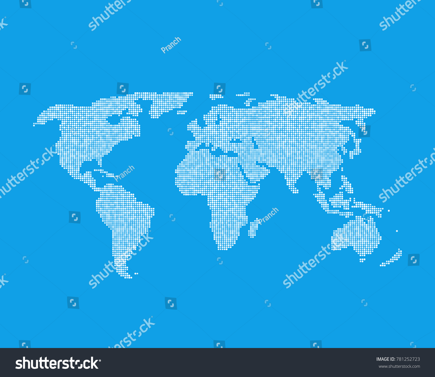 White global world map like infographic vector de stock781252723 white global world map like infographic element concept of earth globe from little dots worldmap gumiabroncs Choice Image