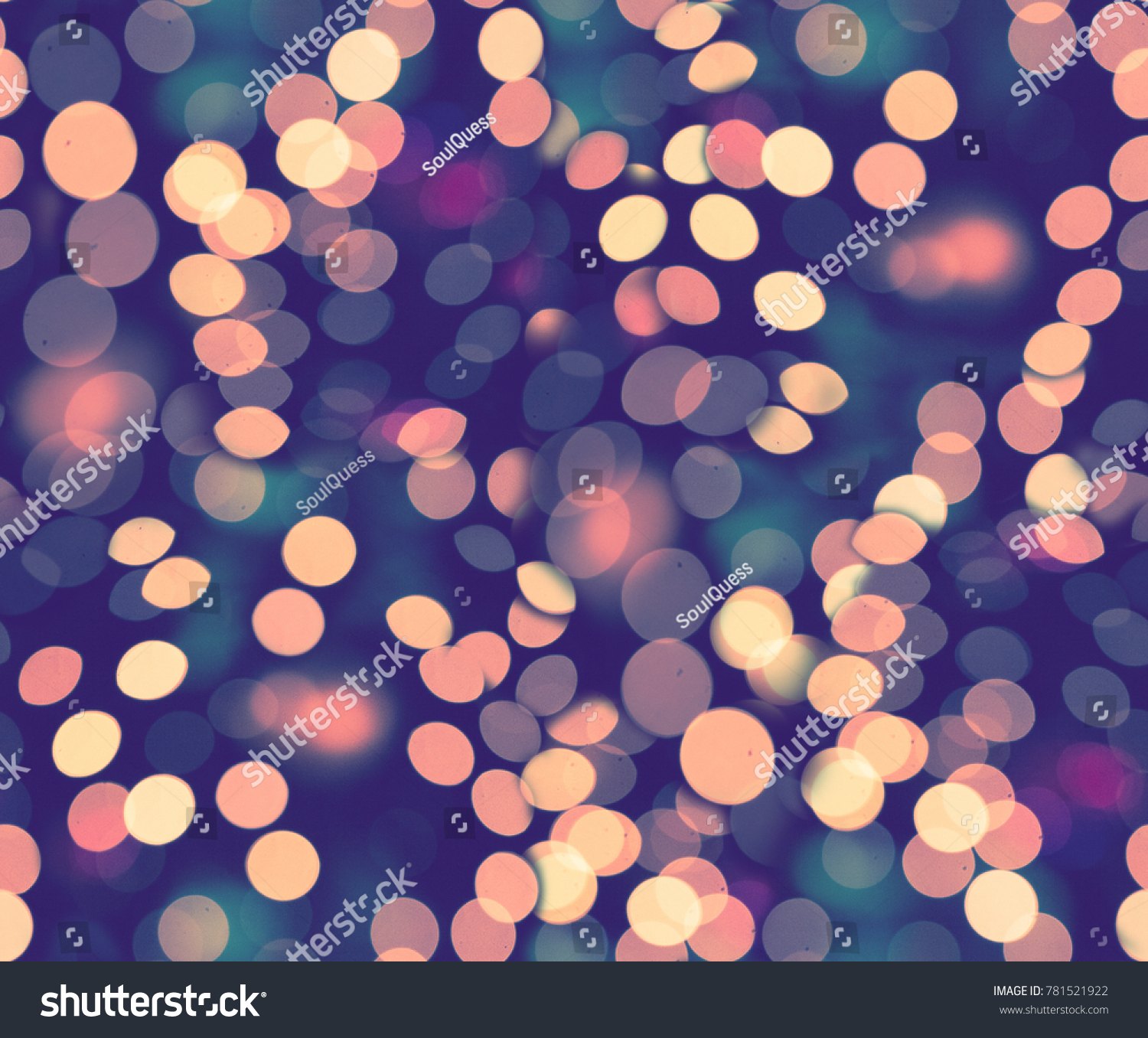 border seamless winter nature squama golden pink fish mermaid bokeh background gold lilac lights and