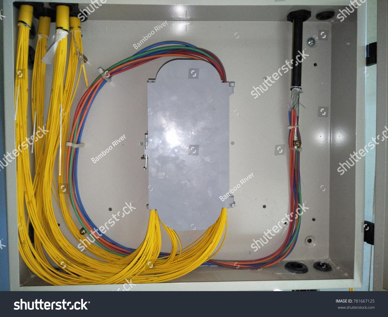 Klangselangor Malaysia December 2017 Fiber Optic Stock Photo Edit Network Wiring Cable Termination Box Ftb Owned By
