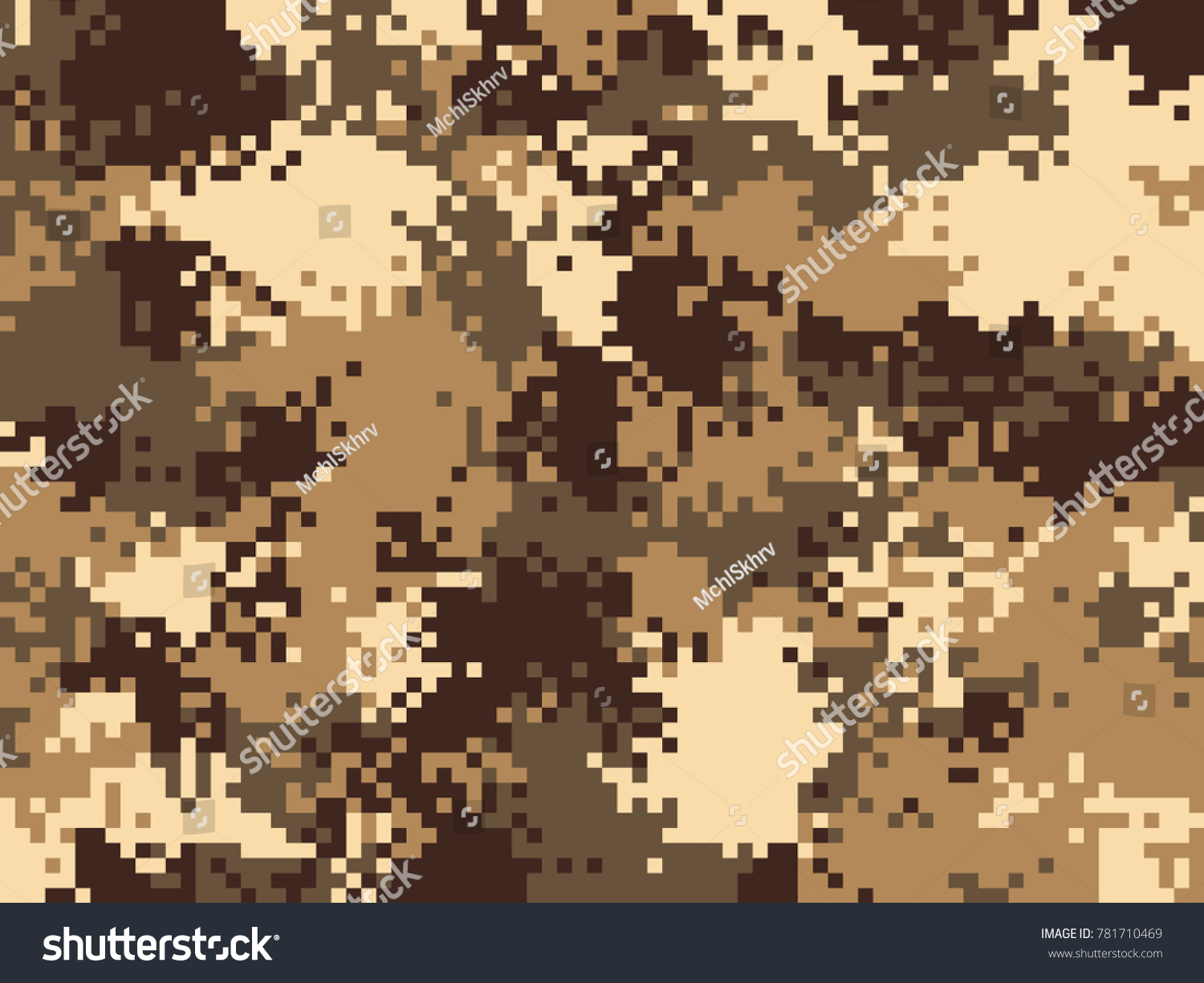 Digital pixel camouflage pattern military texture stock vector digital pixel camouflage pattern military texture stock vector 781710469 shutterstock toneelgroepblik Images