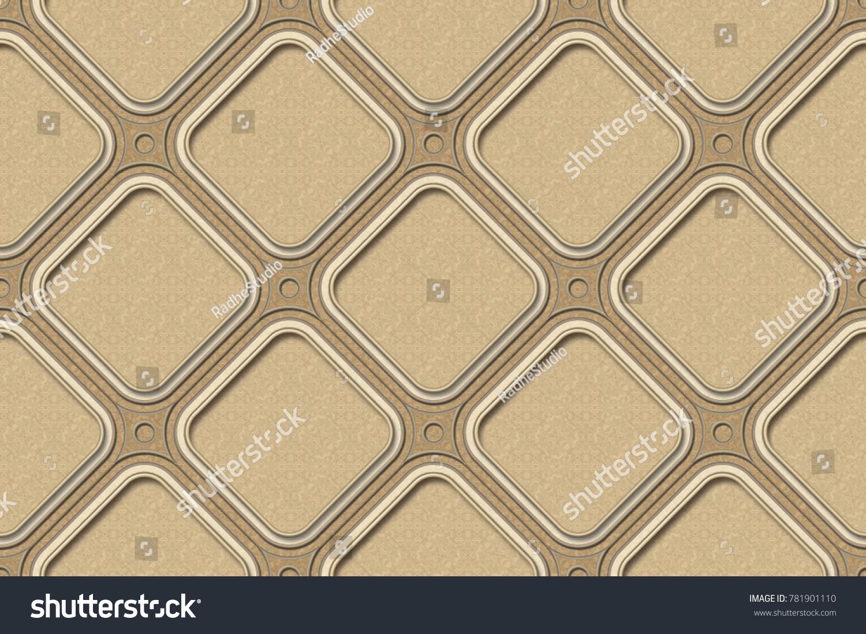 Wall Tiles Kitchen Backgrounds Texture Geometric Stock Illustration ...
