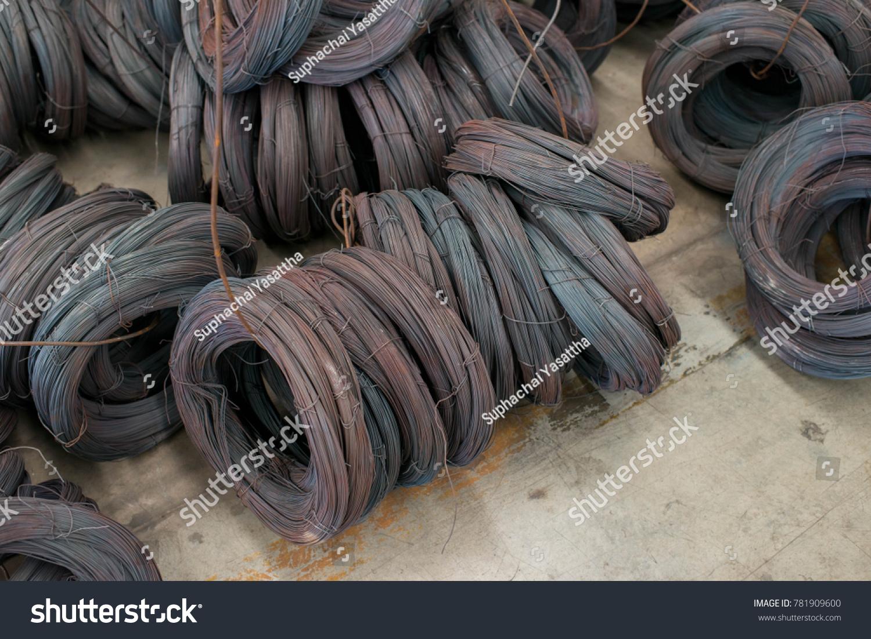 Steel Wire Steel Wire Tie Construction Stock Photo (Edit Now ...