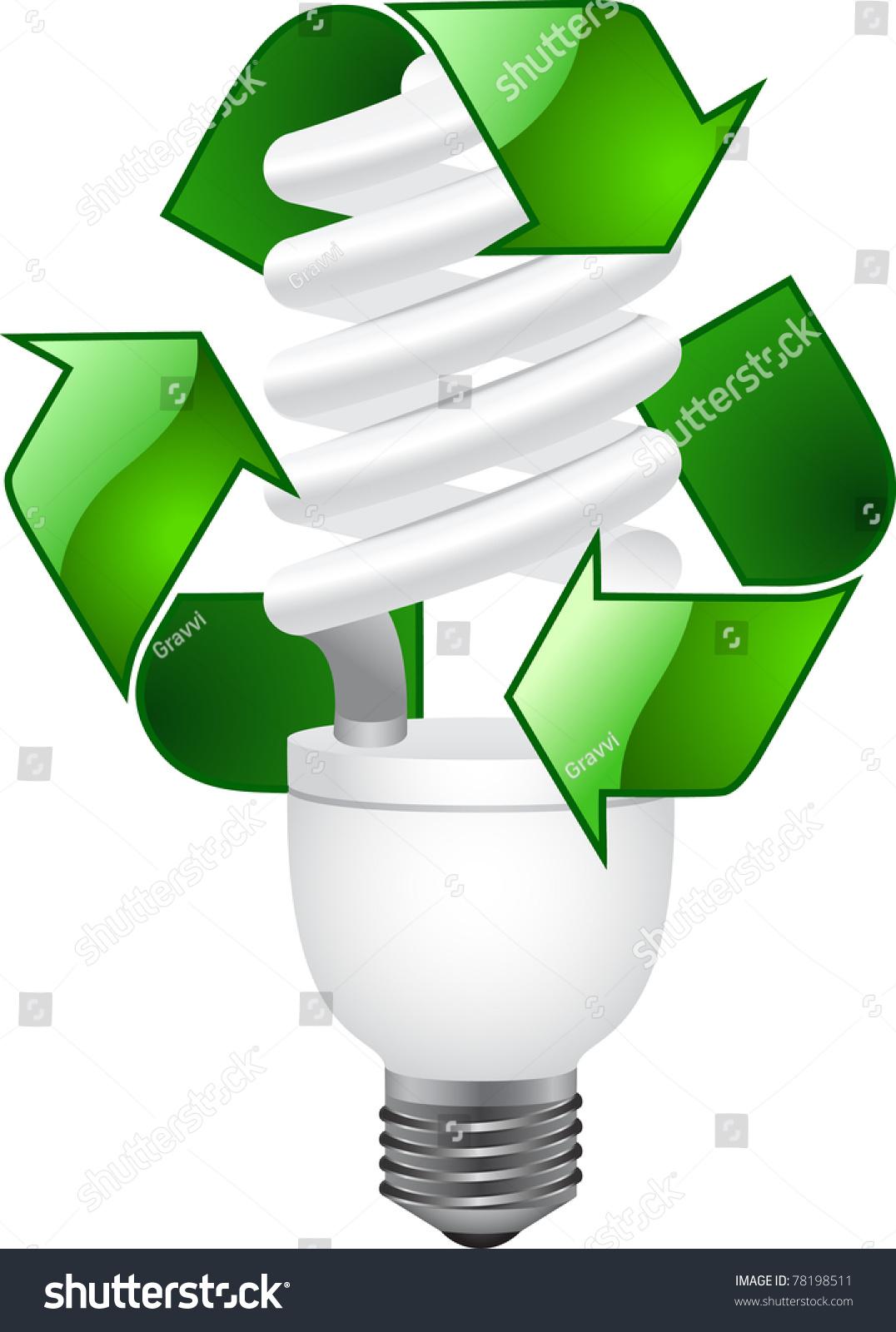 Light Bulb Recycling Symbol Stock Illustration 78198511 Shutterstock