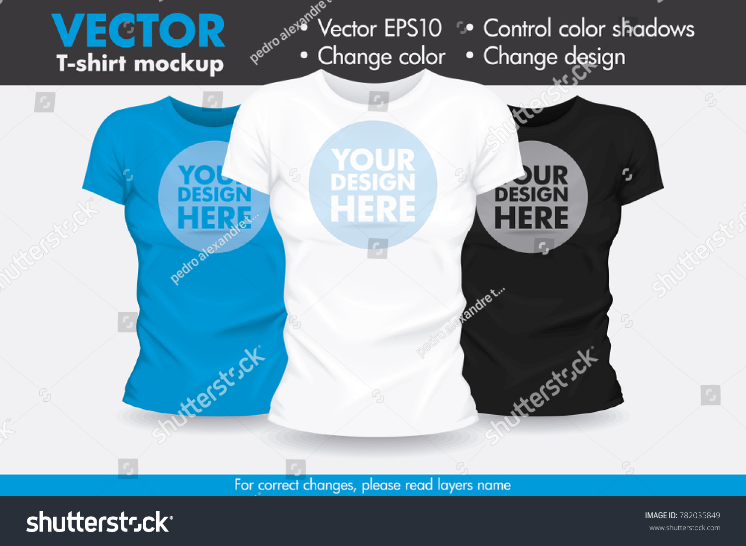 Replace Design Your Design Change Colors Stock Vector (2018 ...